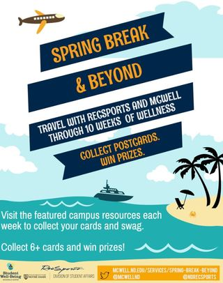 Spring Break And Beyond Poster Jpeg
