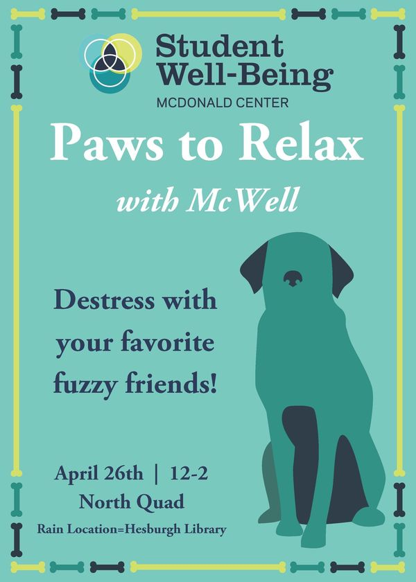Paws To Relax Flyer