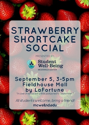 Strawberry Social Fall 17