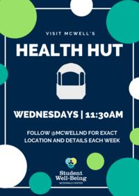 Health Hut Poster 2018